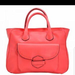 Handbags - Coral gorgeous handbag